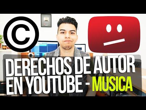 DERECHOS DE AUTOR EN YOUTUBE  - MUSICA