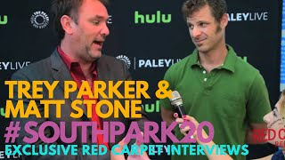 Trey Parker & Matt Stone at the Paley Center 'South Park 20 Experience' #SOUTHPARK20 #PaleyCenter