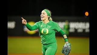 Recap: No. 6 Oregon softball knocks off No. 3 UCLA in thrilling top-10 showdown