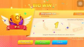 Tongits Go | Tournament Freeroll | Online Game