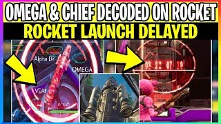 *NEW* Fortnite: OMEGA & CHIEF Written On ROCKET What It Means! & Rocket DELAYED (Battle Royale)