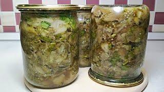 Запеченные баклажаны на зиму НЕ ОТЛИЧИШЬ от свежих! Самый простой и вкусный рецепт баклажанов.