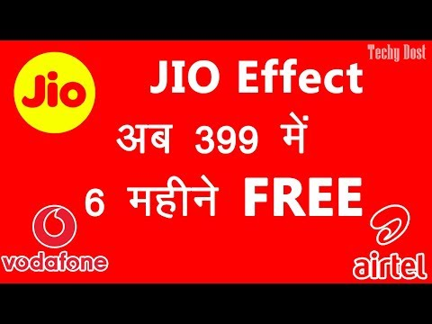 Vodafone 399 Plan for 6 month vs JIO Plan vs Airtel Plan