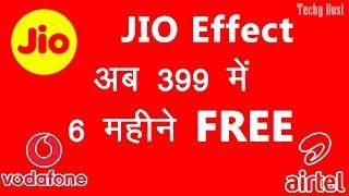Vodafone 399 Plan for 6 month vs JIO Plan vs Airtel Plan
