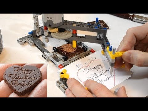 Chocolate Carving Lego Pantograph