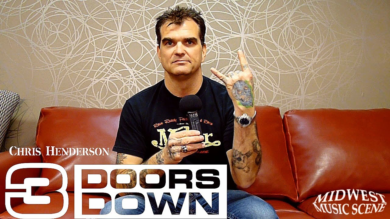 Interview with 3 DOORS DOWN guitarist Chris Henderson  sc 1 st  YouTube & Interview with 3 DOORS DOWN guitarist Chris Henderson - YouTube
