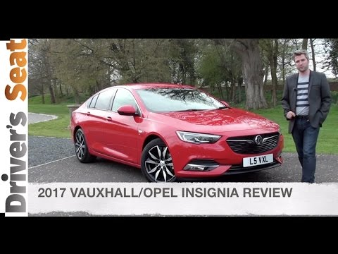 Vauxhall / Opel Insignia Grand Sport 2017 Review | Driver's Seat