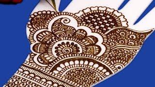 Karwa Chauth Mehndi Design for Hands | करवा चौथ के लिए Henna Design @ ekunji #067 मेहँदी डिज़ाइन