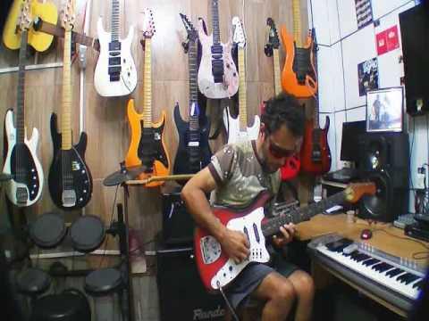 Gilneyparson Minha  Primeira   Guitarra Tonante Improviso
