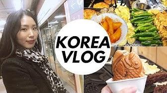 Traditioneller Markt in Korea, Esstag & mega Feinstaub 💨Leben in Seoul Vlog