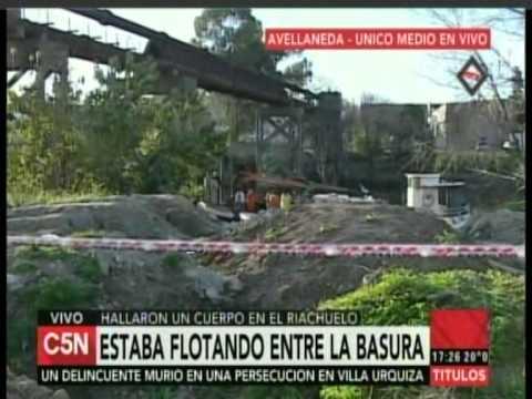 3bf685308 C5N - Policiales  Encontraron un cuerpo en el Riachuelo (Parte 2 ...