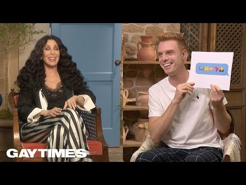 Cher tries to guess ABBA songs using only emojis for Mamma Mia 2