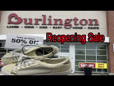 Burlington 50% Off Reopening Sale  ( Speed Sale)