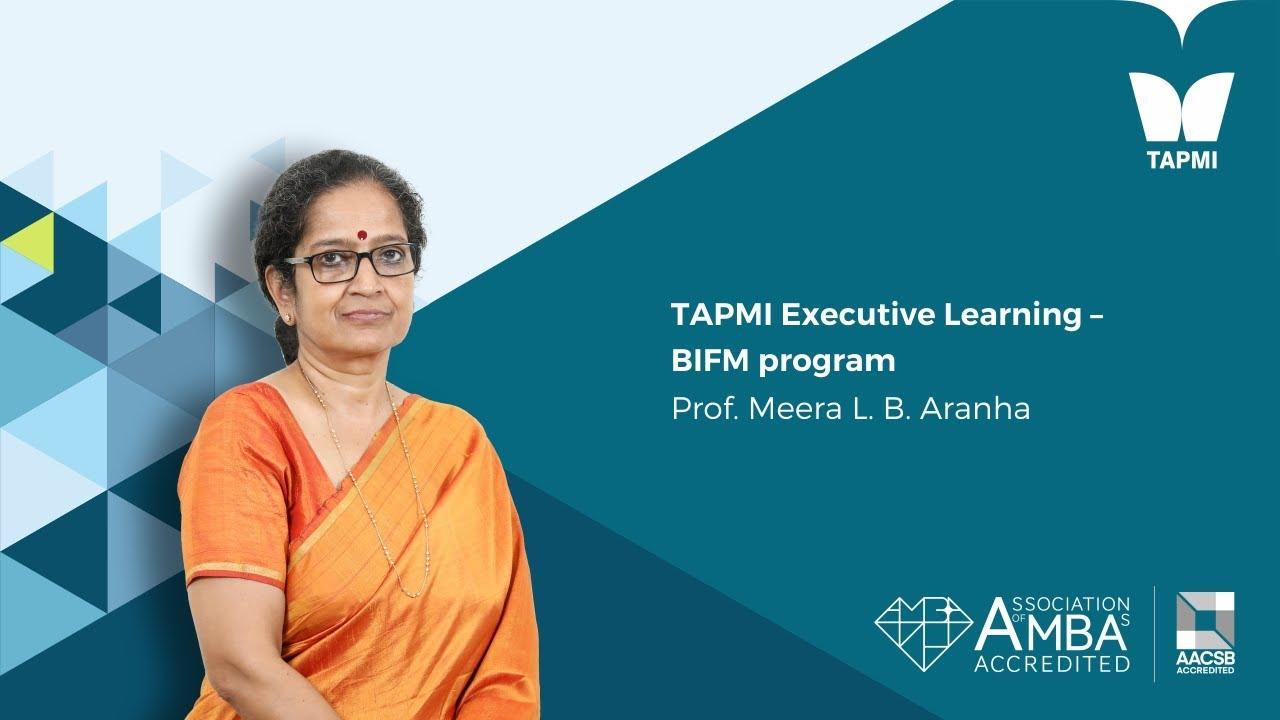 Prof. Meera Aranha - BIFM