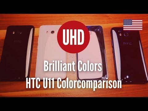 Brilliant Colors | HTC u11 | Colorcomparison