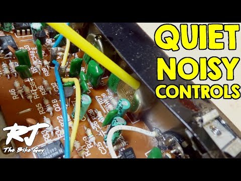 How To Fix Noisy Crackling Knobs/Scratchy Controls On Guitar Amp