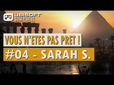 """🎮 Mini-Guide Assassin's Creed Origins - """" Sarah S. - Vous n'êtes pas prêt #04 """""""