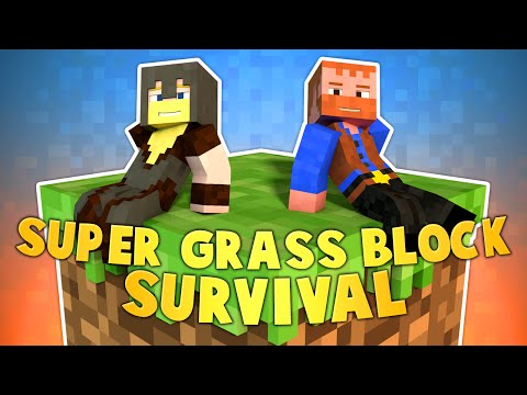 SUPER GRASS BLOCK SURVIVAL (Ep.1) ★ Minecraft: Dumb & Dumber