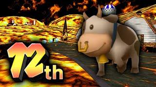 Mario Kart Wii PRO vs HACKED Moo Moo Meadows! ft. @Arcintel