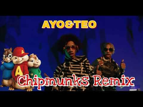 AYO & TEO - Hold My Sauce (Chipmunks Remix) 2018