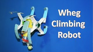 How to make a wheg climbing robot at home