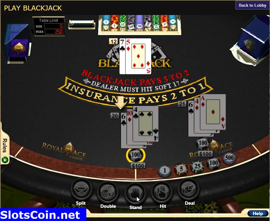 Royal Ace Casino Login