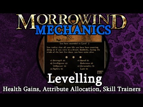 Levelling - Morrowind Mechanics