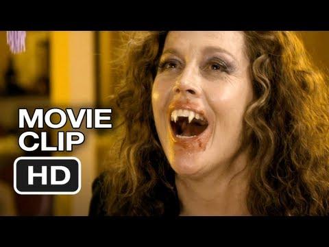 Vamps Movie CLIP - Having Chinese (2012) - Sigourney Weaver, Krysten Ritter Movie HD