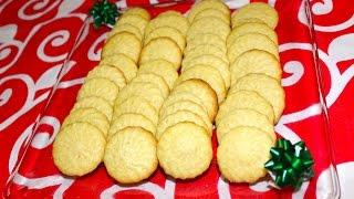 Galletas de mantequilla - Recetas navideñas - La receta de la abuelita