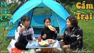 Đi Cắm Trại Nướng Xúc Xích và Bánh Mì Bơ Đường