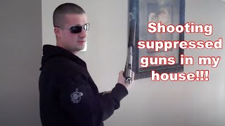 Shooting suppressed handguns in a house thumbnail