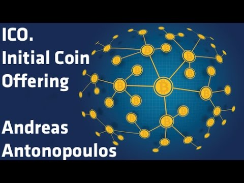 """""""ICO. Initial Coin Offering"""" - Andreas Antonopoulos"""