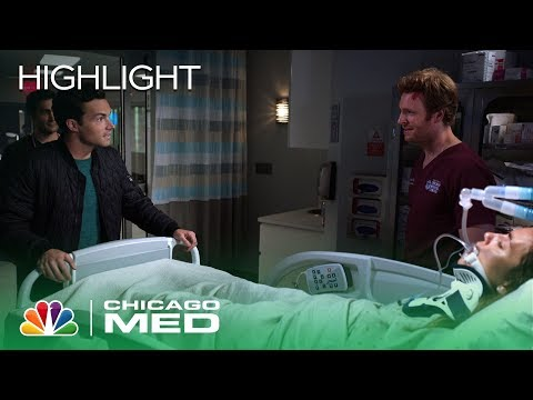 Will and Phillip Get Into a Confrontation Over Natalie - Chicago Med (Episode Highlight)