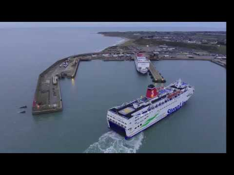 Stena Europe Arrival, Rosslare Harbour