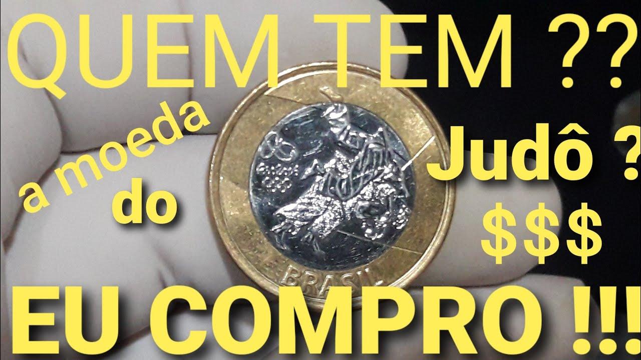 QUEM TEM ??  a moeda do JUDÔ ? EU COMPRO !!!