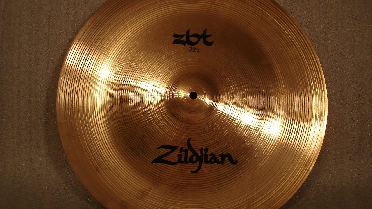 ccf0e2319227 Zildjian 18  ZBT China - YouTube