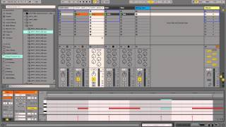 Tuning a Kick sample into a bouncy EDM Tom - Quick Tip Ableton Live 9