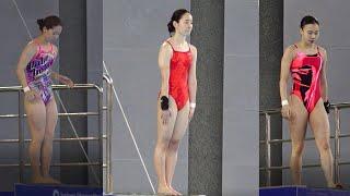 초고화질 슬로우모션으로 보는 여자 다이빙 최고 높이 1…