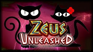 48 BONUS SPINS in ZEUS UNLEASHED ⚡️ The Slot Cats 🎰😺😸