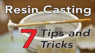 Resin Casting Tips Tricks Tools and Hacks for your molding projects