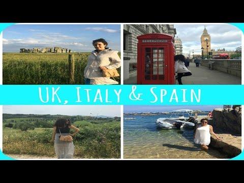 My  Euro Trip: UK, Italy, & Spain (Part II)