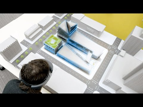 Introducing SketchUp Viewer on Microsoft HoloLens