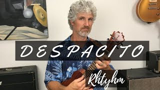 Despacito Ukulele Tutorial Rasgueado Flamenco Guitar Pattern (ADVANCED LESSON)