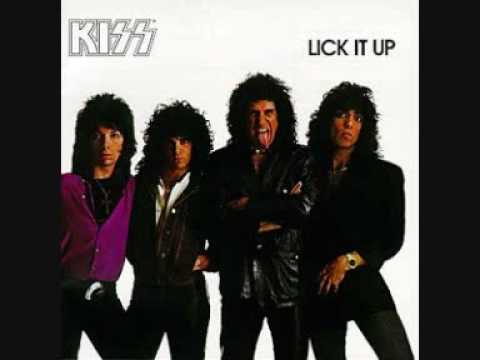 Have Kiss lick it up video