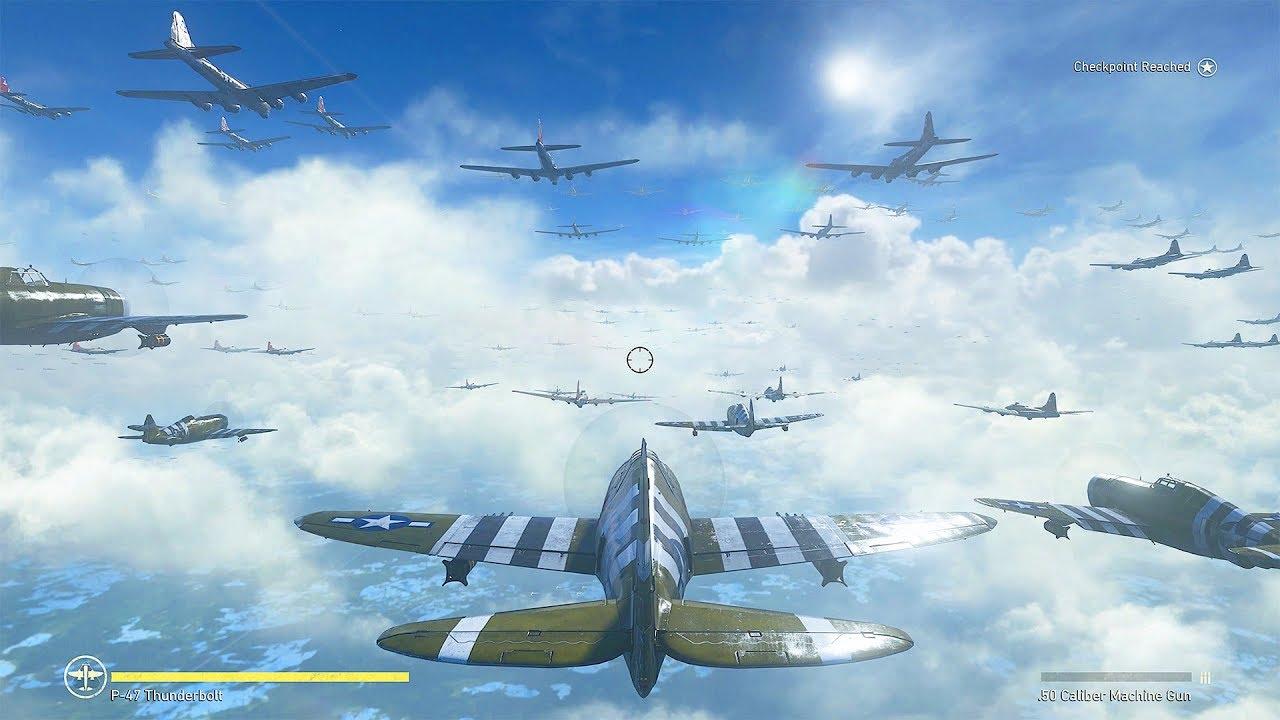 4k max settings realism battle of the bulge air battles - Is cod ww2 4k ...