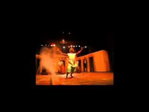 My African Dance Short solo