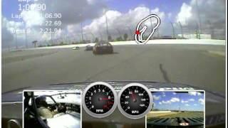 Midwest-Bayless #22 Fiat X1/9 Qualifying Lap @ 2015 Daytona SCCA Runoffs