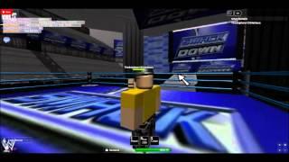 WWE Smackdown HD Parte Uno (Roblox)
