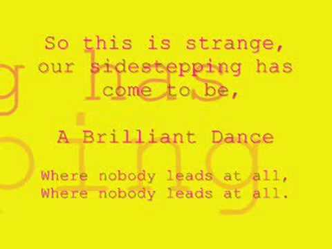 The Brilliant Dance - Dashboard Confessional - (With Lyrics)