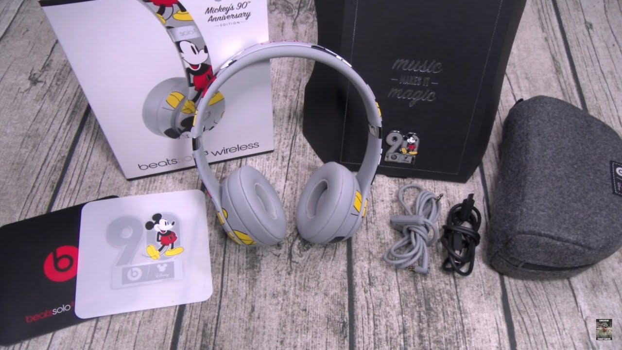 Beats Solo 3 Wireless Mickey S 90th Anniversary Edition Youtube